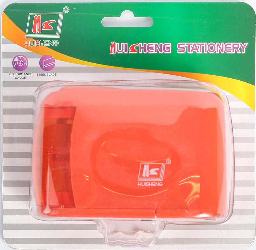 Точилка электрическая с контейнером цвет красный 2691090 -  Чертежные принадлежности