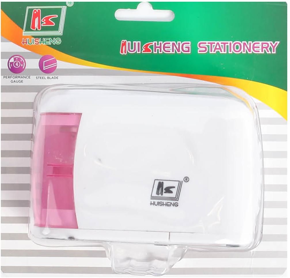 Точилка электрическая с контейнером цвет белый 2691090 -  Чертежные принадлежности