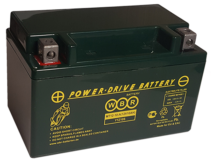 WBR MT12-10-А аккумуляторная батарея для мотоцикла/квадроцикла