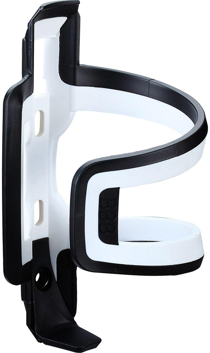 Флягодержатель BBB DualAttack, цвет: черный, белый