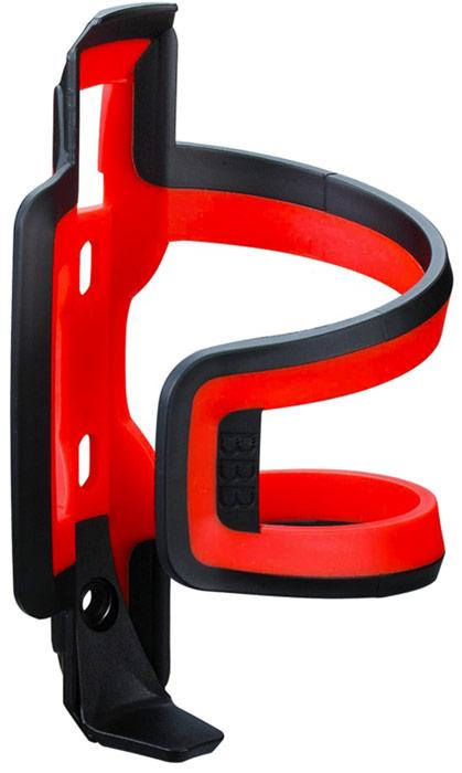 Флягодержатель BBB DualAttack, цвет: черный, красный