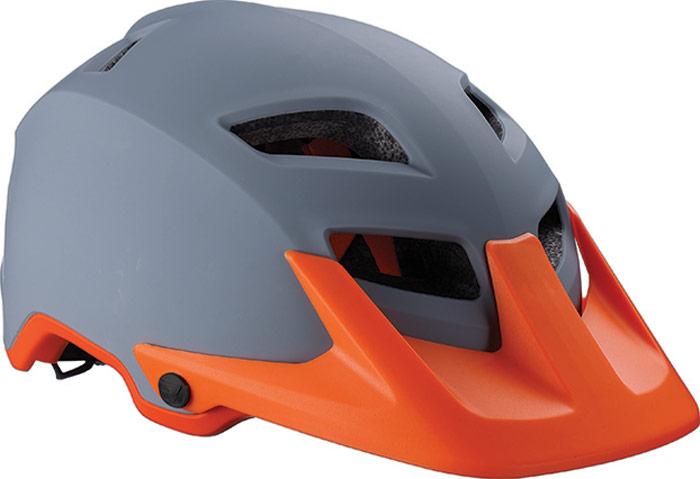 Велошлем BBB 2018 Ore, цвет: серый, оранжевый. Размер M