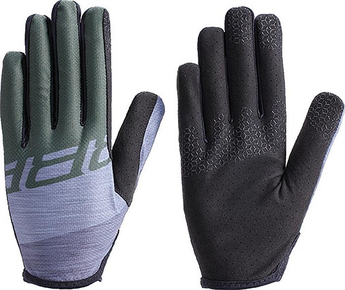 Перчатки велосипедные BBB 2018 LiteZone, цвет: серый, зеленый. Размер XXL