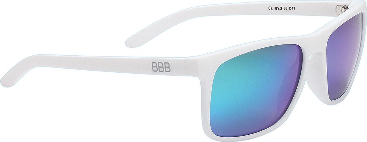Очки солнцезащитные велосипедные BBB 2018 Town PZ PC MLC Green Polarised Lenses, цвет: белый