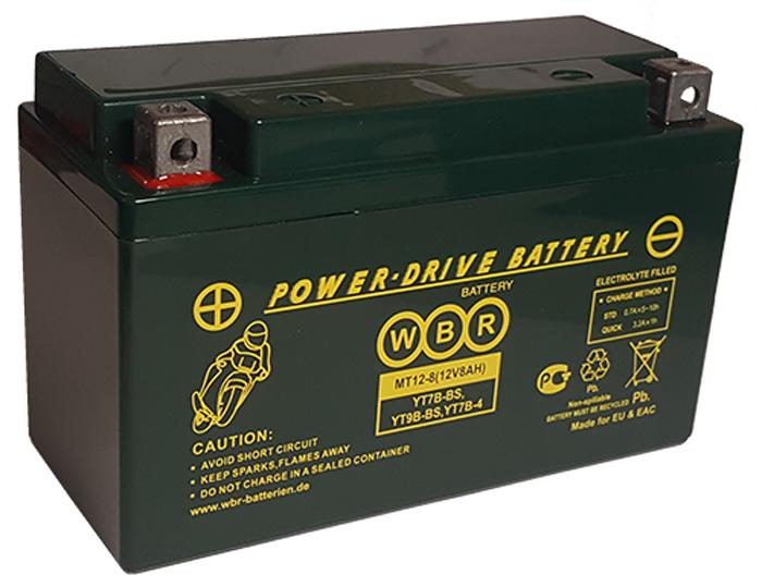 WBR MT12-8 аккумуляторная батарея для мотоцикла/квадроцикла