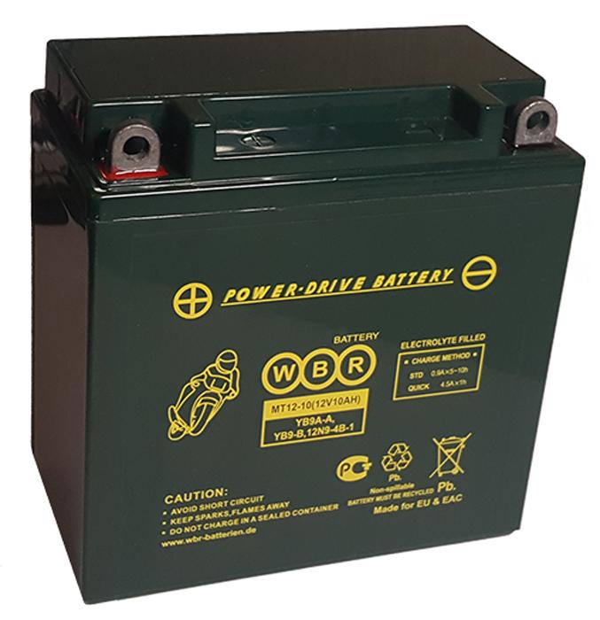 WBR MT12-10 аккумуляторная батарея для мотоцикла/квадроцикла