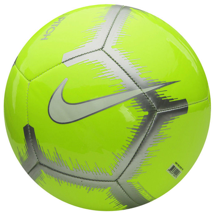Мяч футбольный Nike Nk Ptch Event Pack, цвет: желтый, белый. Размер 5SC3521-702