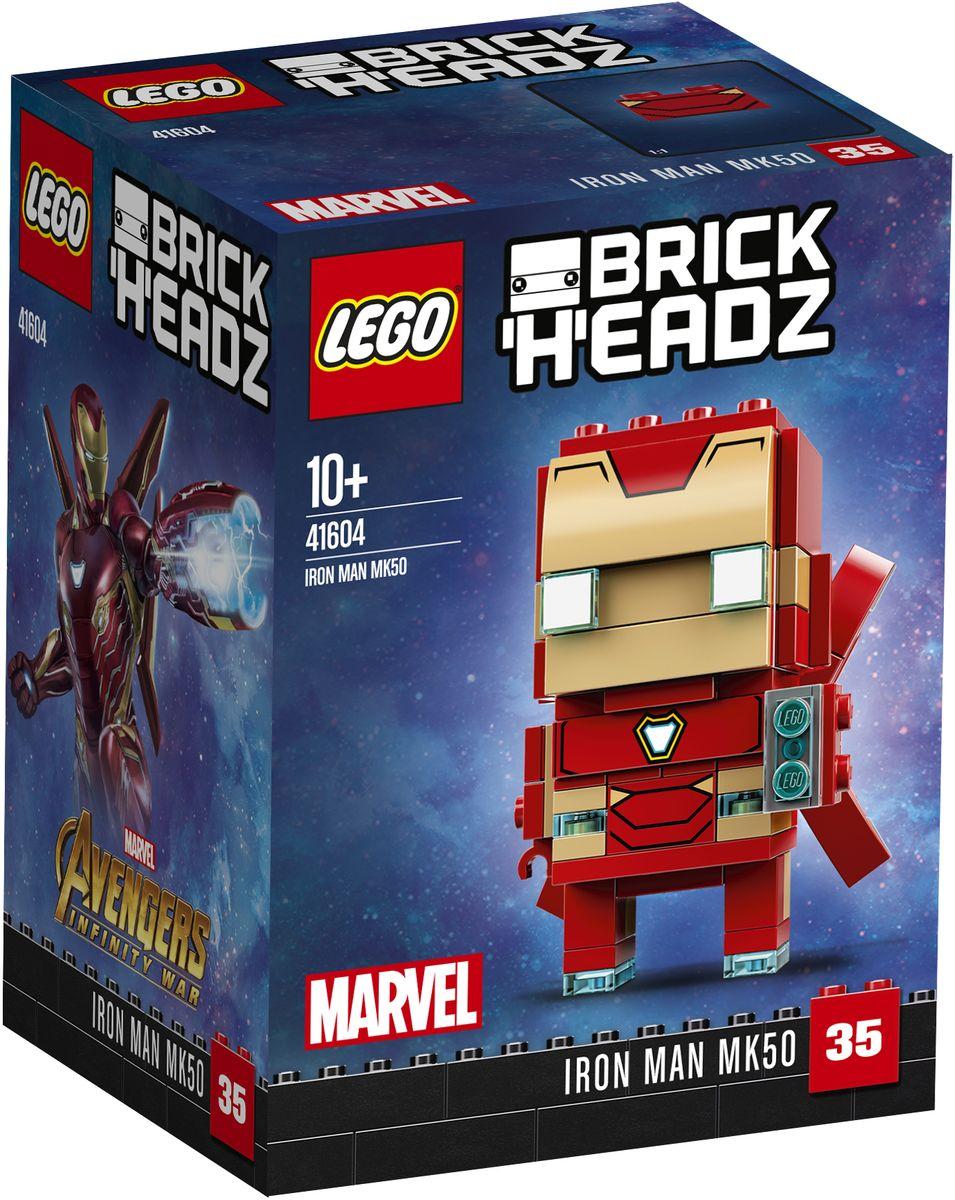 LEGO BrickHeadz Конструктор Железный человек лонгслив printio железный человек
