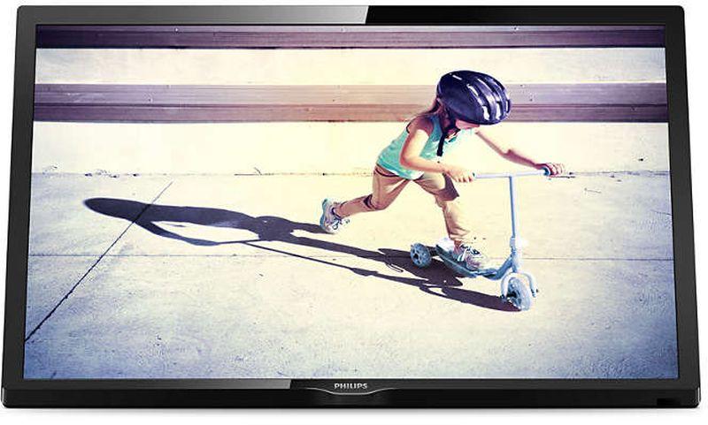 Philips 22PFS4022/60 телевизор22PFS4022/60Компактный портативный телевизор: безграничные возможности развлечений. Благодаря этому стильному, легкому и компактному телевизору с малой диагональю вы не пропустите любимую телепередачу. Установите его на кухне, следите за последними новостями, работая в гараже, или болейте за любимую команду во дворе за приготовлением барбекю. Портативный дизайн для безграничных возможностей развлечений!