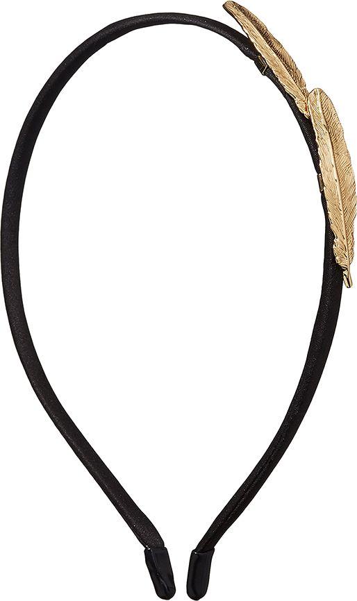 Ободок для волос Nothing but Love, цвет: черный, золотистый. 203409 обручи тройные на привязку