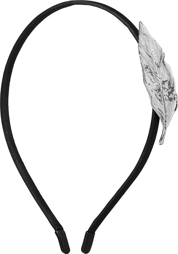 Ободок для волос Nothing but Love, цвет: черный, серебристый. 203427 обручи тройные на привязку