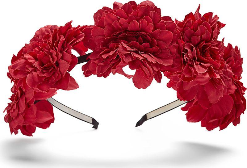Ободок для волос Nothing but Love, цвет: красный, темно-красный, черный. 203681