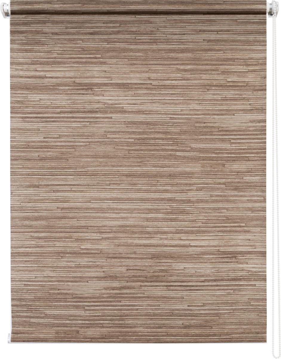 """Штора рулонная Уют """"Натурэль"""", цвет: коричневый, 60 х 175 см"""