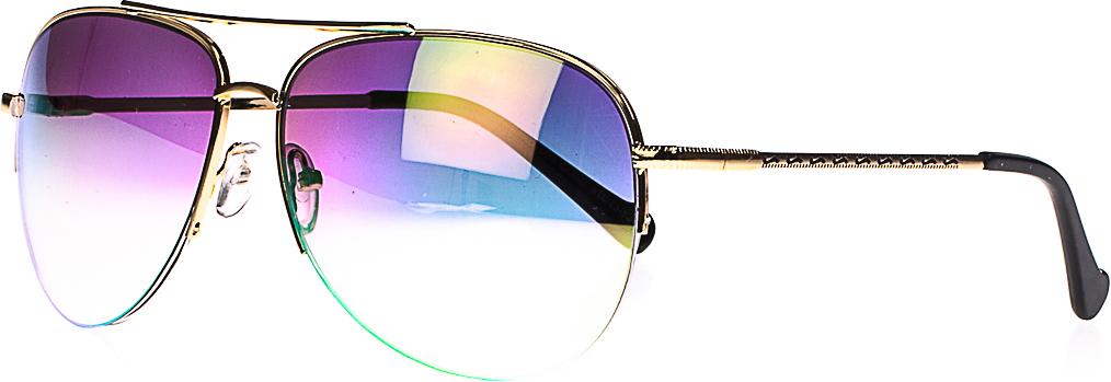 Очки солнцезащитные женские, цвет: золотистый, черный. 1803-7009_4