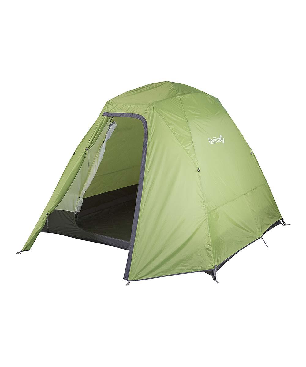 Палатка Fox Comfort Family V2, цвет: зеленый