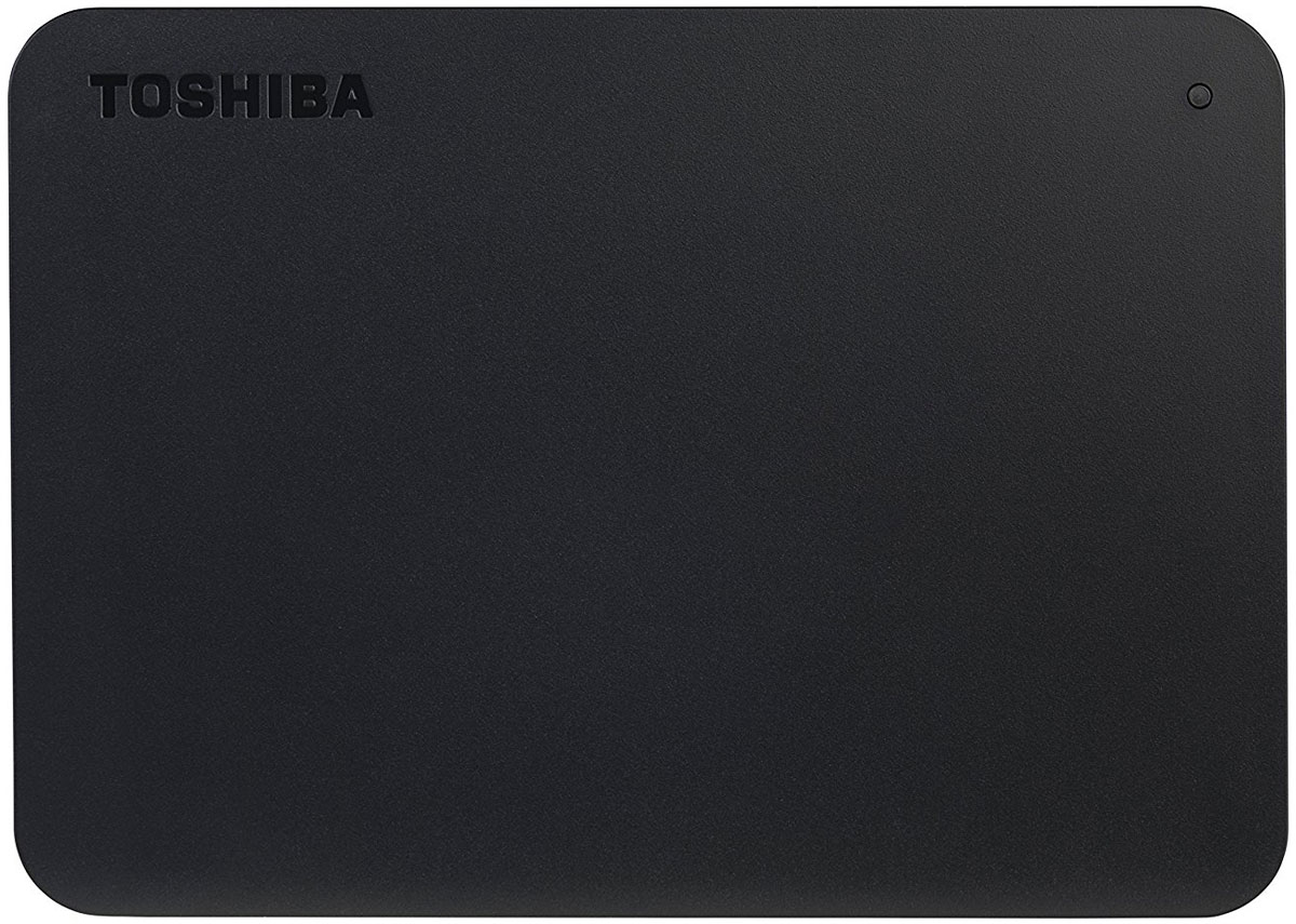 Zakazat.ru Toshiba Canvio Basics New 1TB, Black внешний жесткий диск (HDTB410EK3AA)