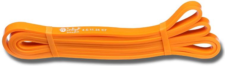 Эспандер Indigo Петля сопротивления. Power Band, нагрузка 5-12 кг, 208 х 1,3 х 0,45 см