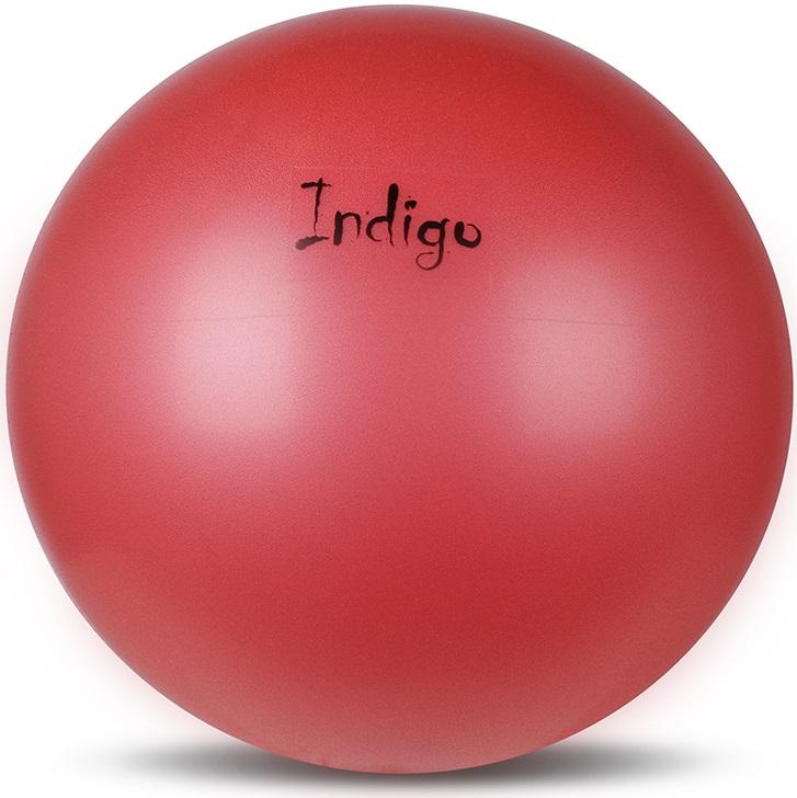 Мяч для пилатеса и аэробики Indigo, диаметр 20 см стойка для pump аэробики для 20 наборов fitness division fd rk bps 834