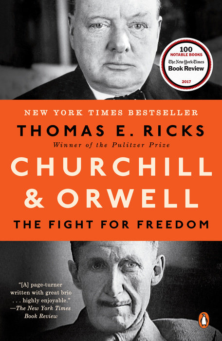 Churchill and Orwell. The Fight for Freedom british banking