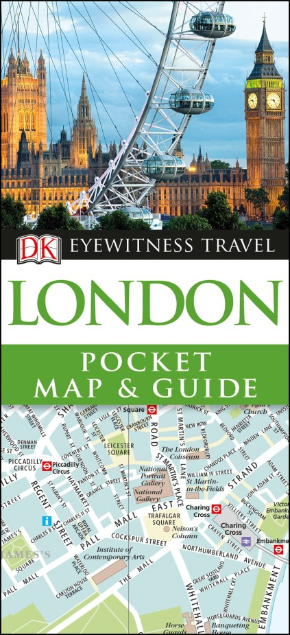 London Pocket Map and Guide leyland s a curious guide to london tales of a city