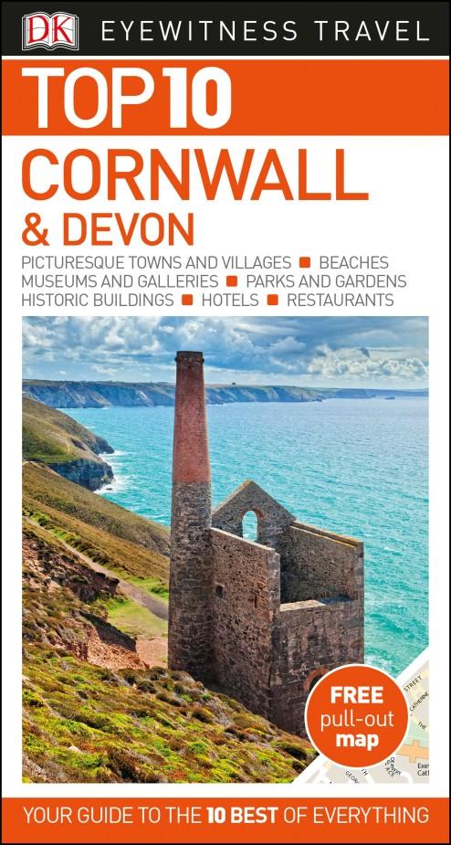 Фото Top 10 Cornwall and Devon dk eyewitness top 10 travel guide scotland