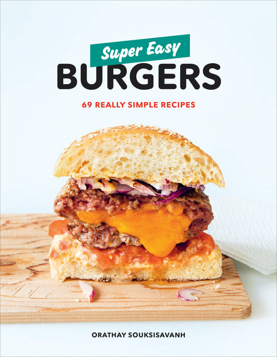 Super Easy Burgers like bug juice on a burger