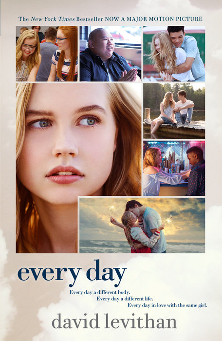 Every Day Movie Tie-In Edition майка борцовка print bar рок идолы