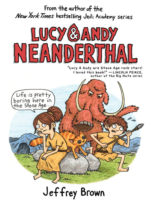 Lucy & Andy Neanderthal laugh out loud holiday jokes for kids