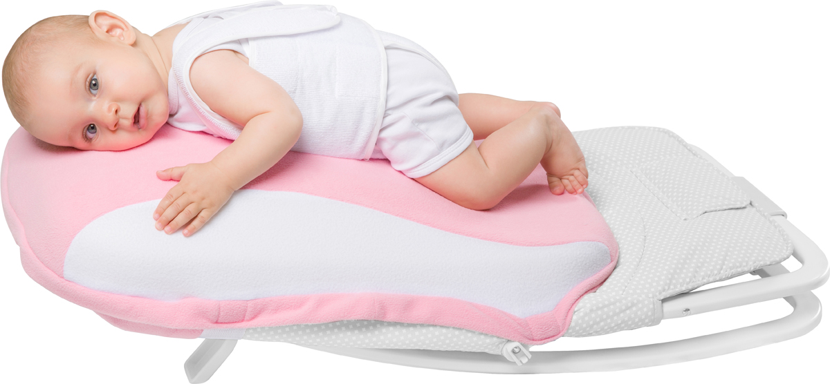 """Новинка! Подушка матрас PLUS поставляется с устройством вибро: нежный вибромассаж, звуки сердцебиения! Уникальное изобретение, имитирующее положение ребенка на груди матери, или """"маминого животика"""". Использование Dolce Pad оказывает успокоительный эффект на новорожденного, снижая колики и плач ребенка. Съемный чехол из высококачественного флиса. На время отдыха новорожденного в Dolce Cocon, родители могут передохнуть и заняться своими делами!"""