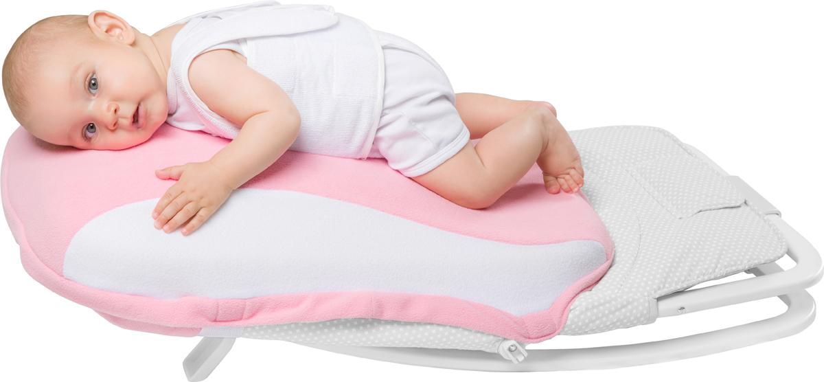 Dolce Bambino Подушка-матрас для новорожденных Dolce Pad Plus цвет розовый 65 х 38 х 18 см dolce bambino подушка матрас dolce pad цвет бежевый 65 х 38 х 18 см