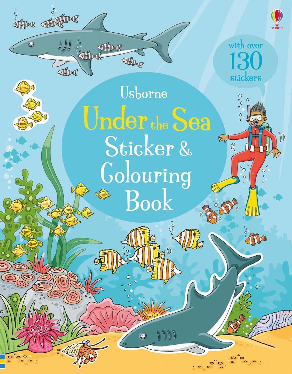 Under the sea sticker and colouring book verne j 20000 leagues under the sea theacher s book