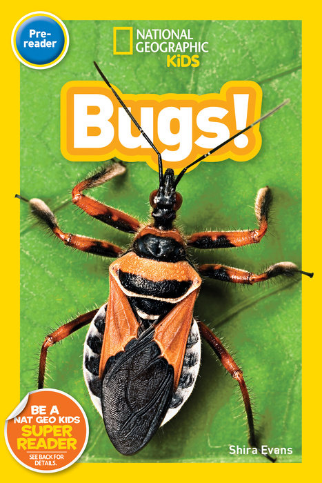 National Geographic Kids Readers: Bugs (Pre-reader) national geographic kids readers ancient egypt l3