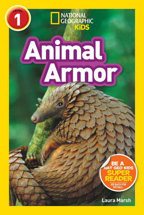 National Geographic Kids Readers: Animal Armor (L1) national geographic readers cats level 1 co reader