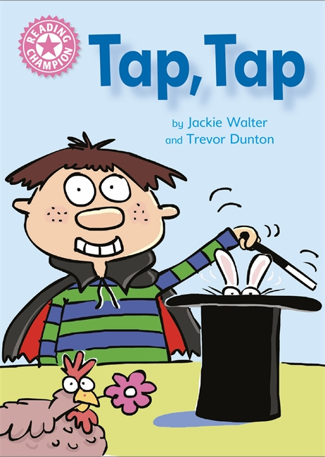 Reading Champion: Tap, Tap penguin active reading easystarts the hat book