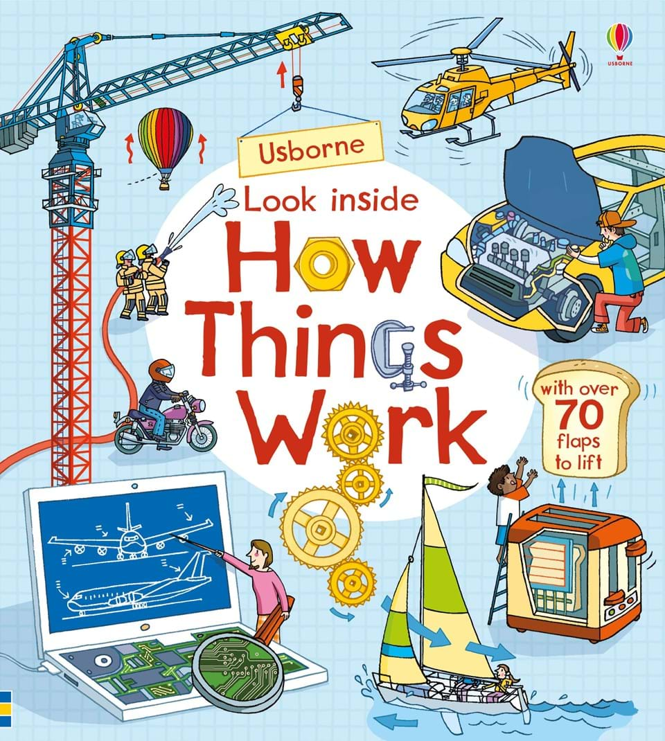 Look inside how things work time drive how to have time to live and to work