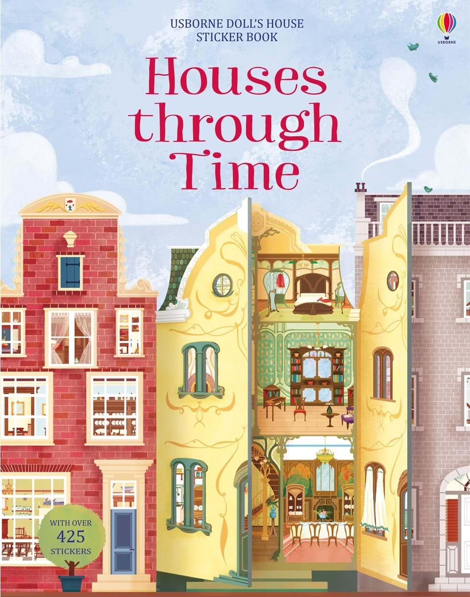 Houses through time sticker book diary of a wartime affair