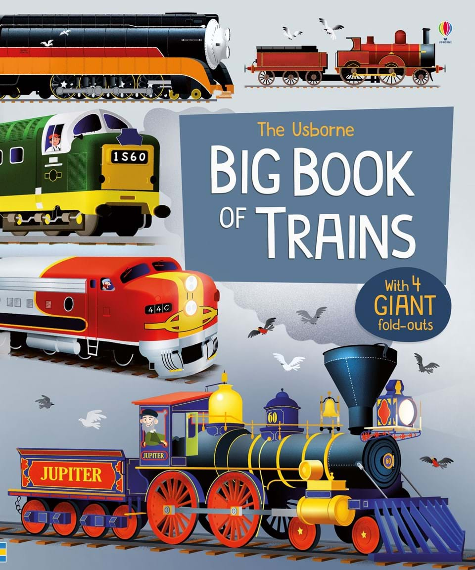 Big book of trains 3d dynamic models of a railway track for high speed trains