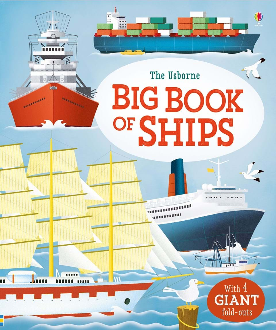 Big Book of Ships see inside pirate ships