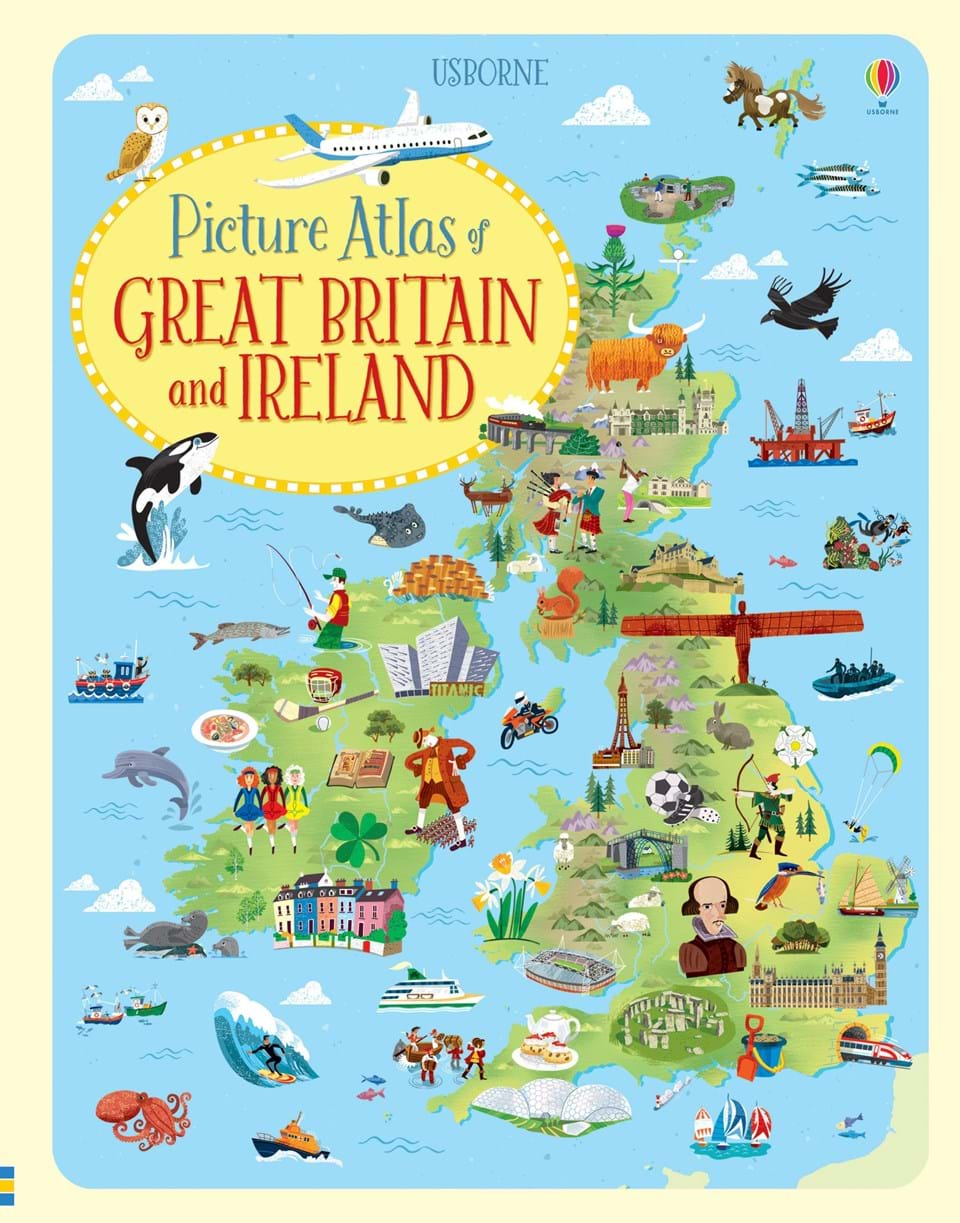 Picture atlas of Great Britain and Ireland the picture atlas