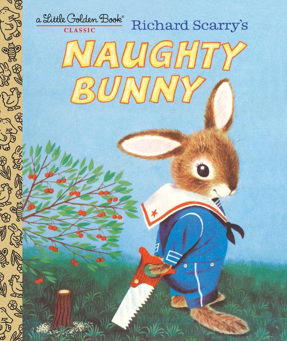 Richard Scarry's Naughty Bunny, Зарубежная литература для детей  - купить со скидкой