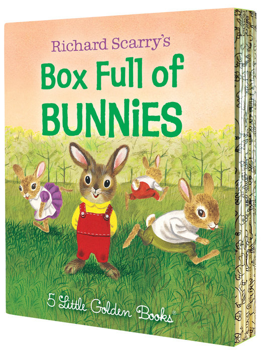 Richard Scarry's Box Full of Bunnies chinese idioms about sheep and their related stories