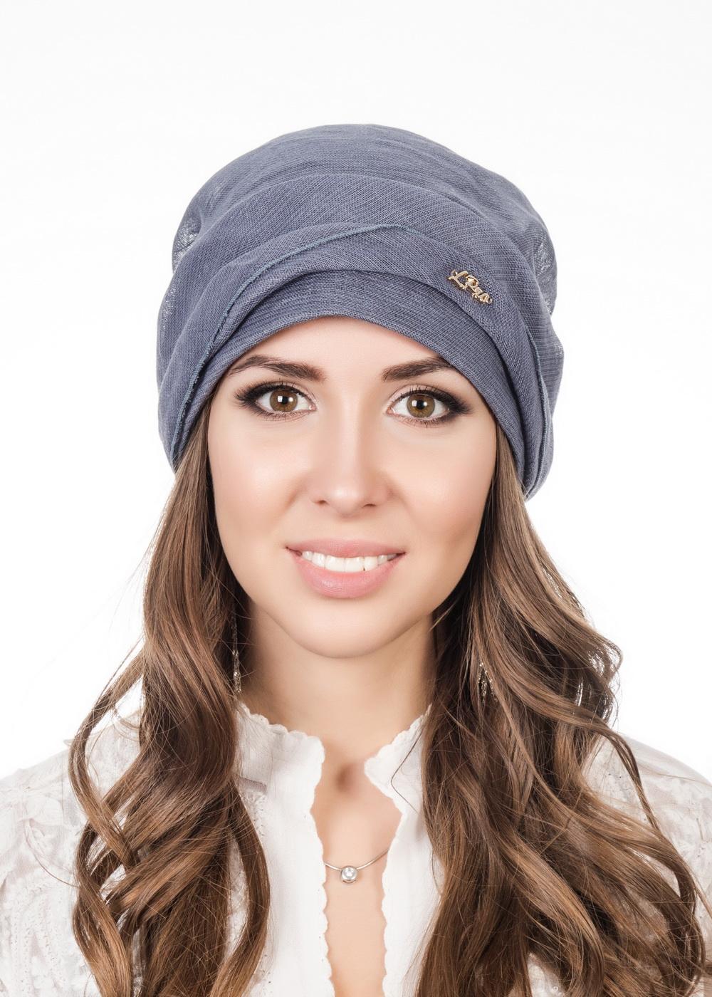 Бандана женская Level Pro Афродита, цвет: синий. 381077. Размер 56/58 бандана 4fun 4fun thermal pro wolf blue синий