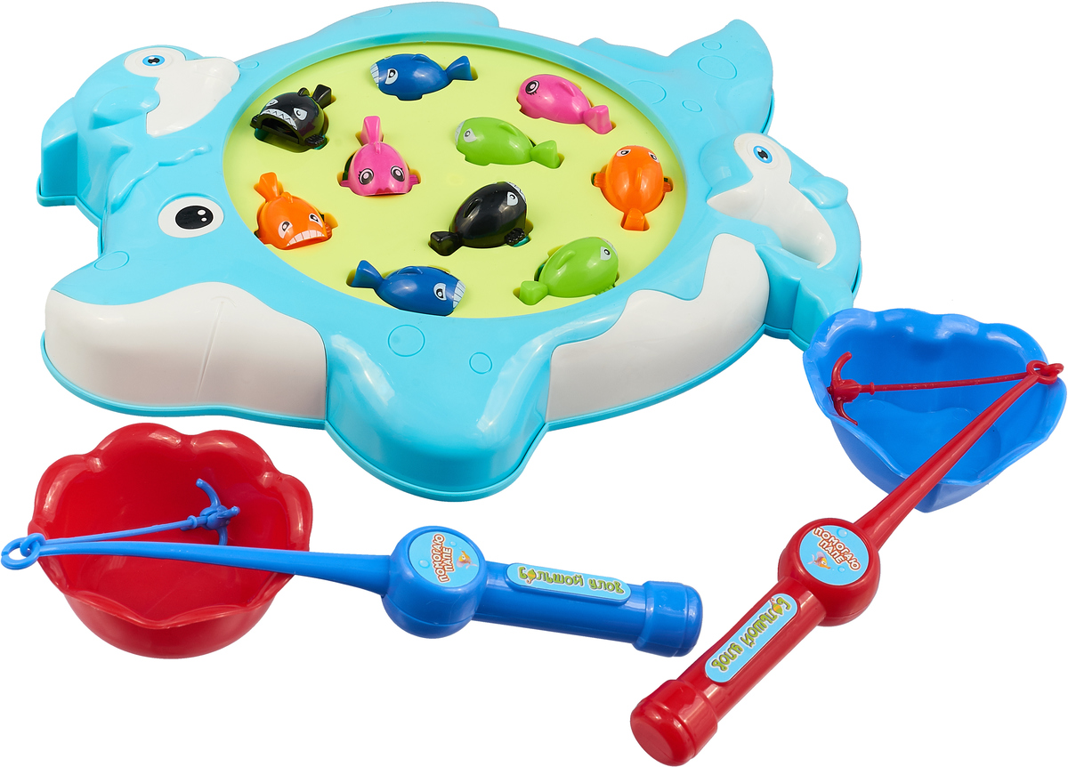 ABtoys Развивающая игрушка Рыбалка Большой улов цвет голубой развивающая игрушка special education paradise 121