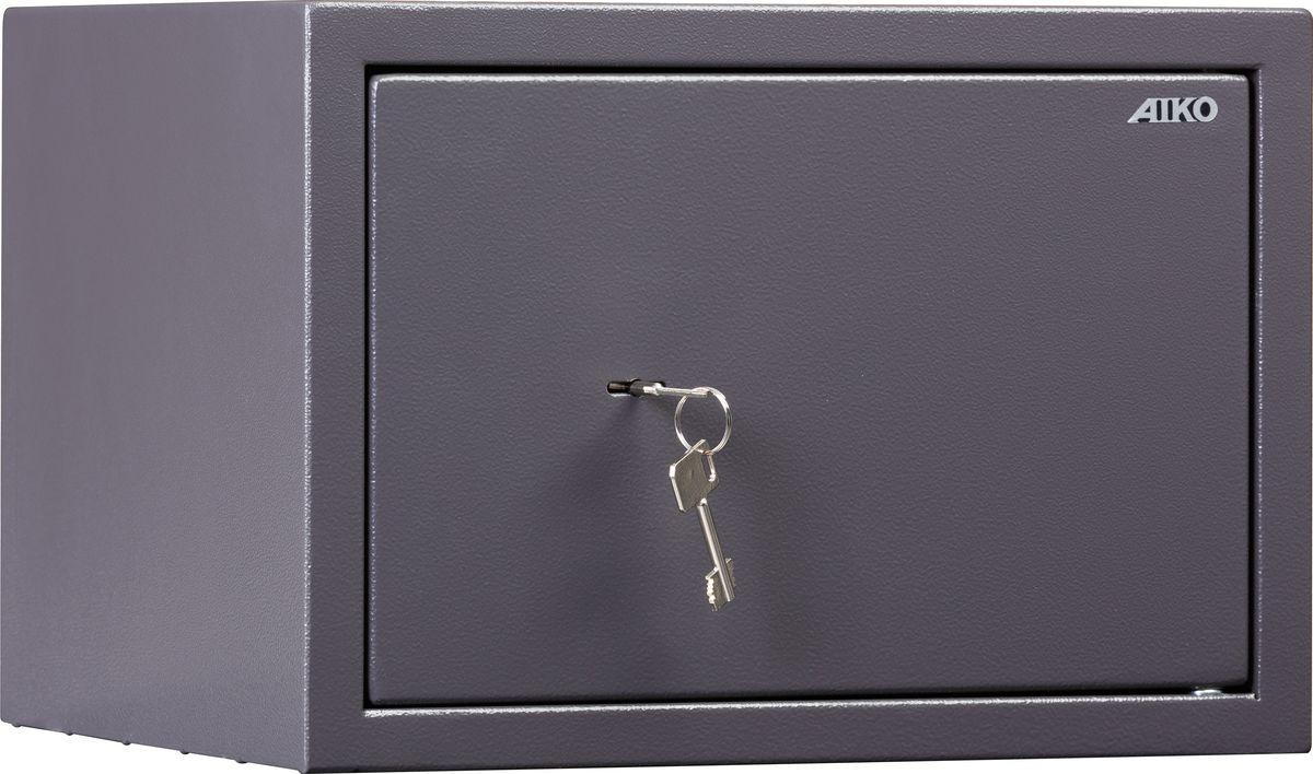 Сейф предназначен для хранения документов и ценностей дома и в офисе;  устойчивость к взлому: ГОСТ Р 55148-2012, класс S1 (ГОСТ Р); толщина двери - 59 мм;  толщина боковых стенок - 1,5 мм; базовая комплектация – ключевой замок Border; цвет: графит структурированный (RAL 7024); тип покрытия: порошковое; предусмотрена возможность анкерного крепления к полу и стене (анкерный болт в комплект не входит).