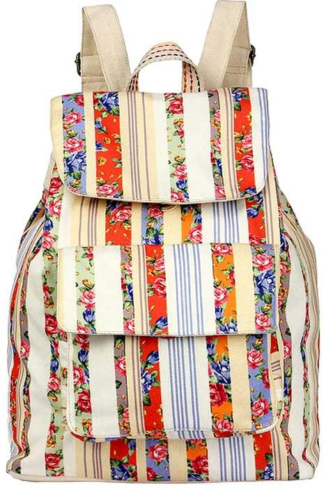 цена на Рюкзак женский Justo Creazione, цвет: разноцветный. 2426 AB