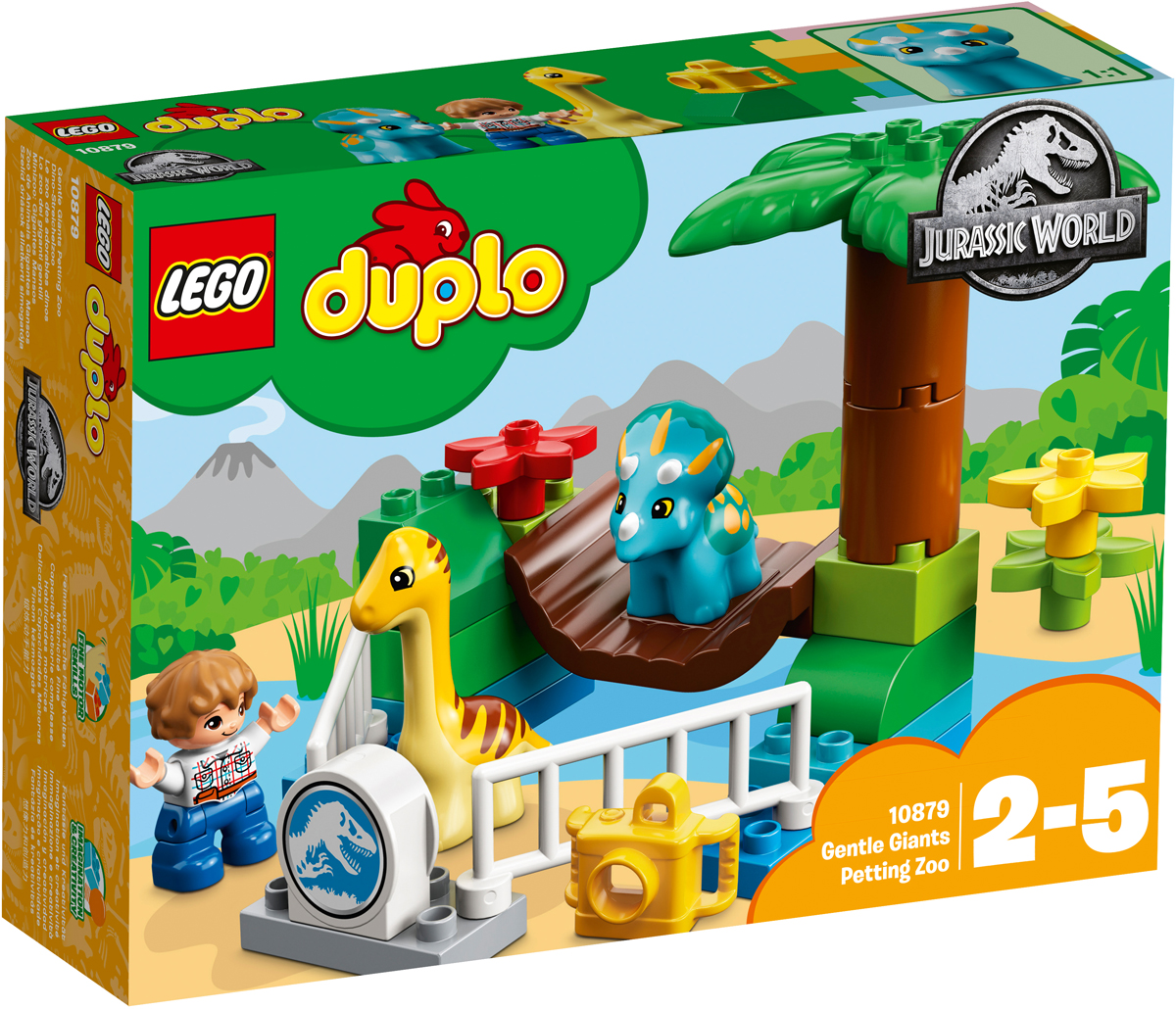 LEGO DUPLO Jurassic World Конструктор Парк динозавров