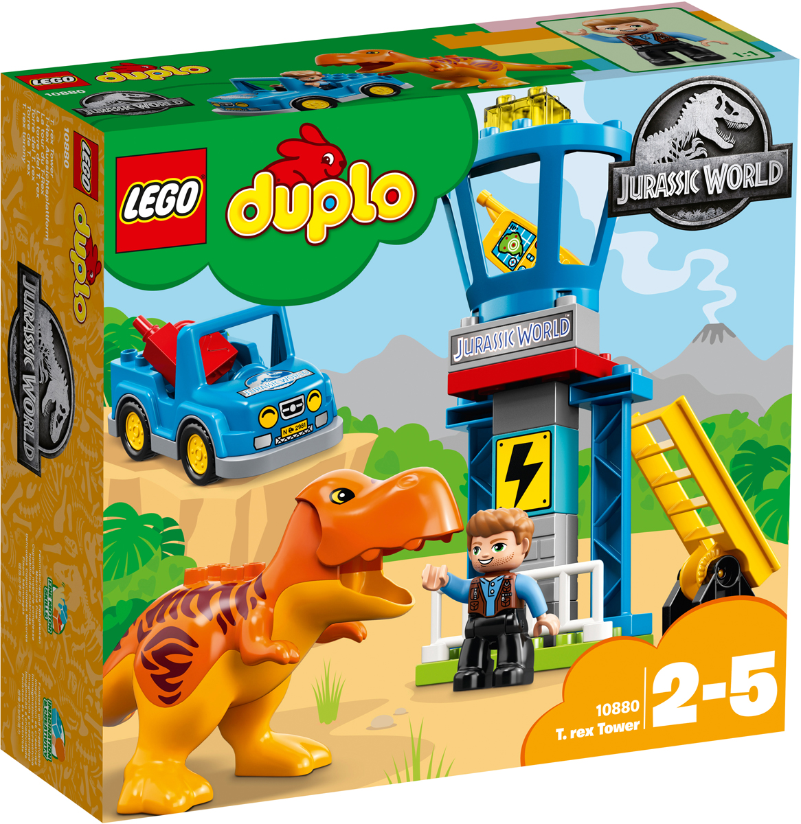 LEGO DUPLO Jurassic World Конструктор Башня Ти-Рекса