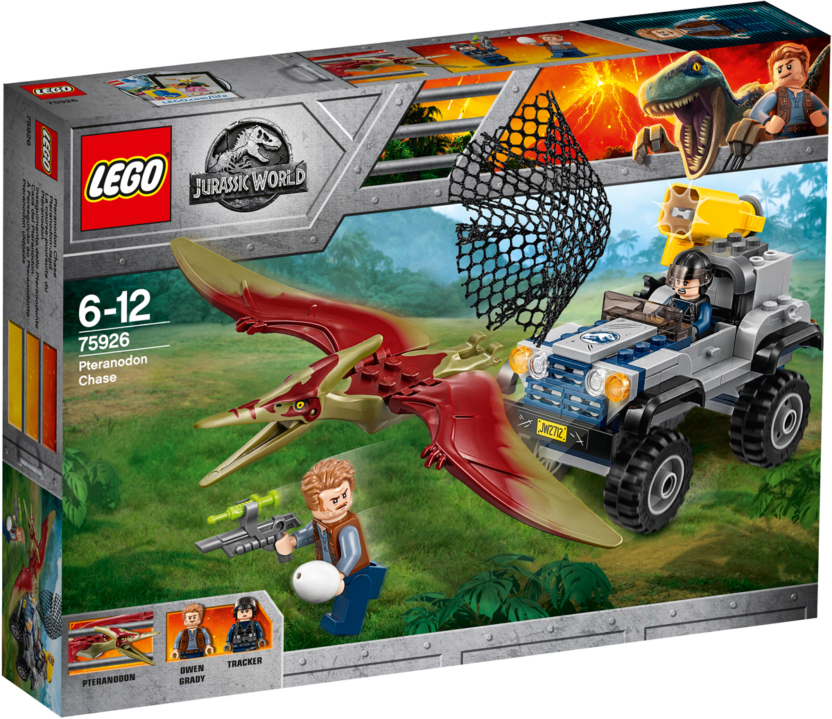 LEGO Jurassic World Конструктор Погоня за птеранодоном