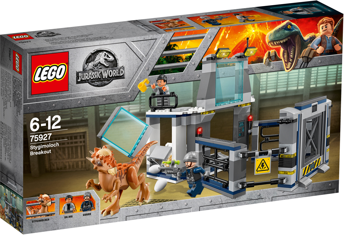 LEGO Jurassic World Конструктор Побег стигимолоха из лаборатории