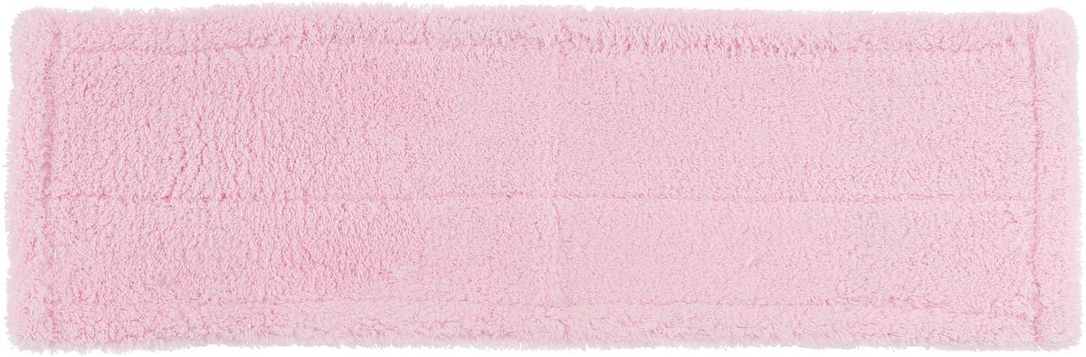 Насадка для швабры HomeQueen Еврокласс, цвет: светло-розовый, 12 х 43 см70057_светло розовый